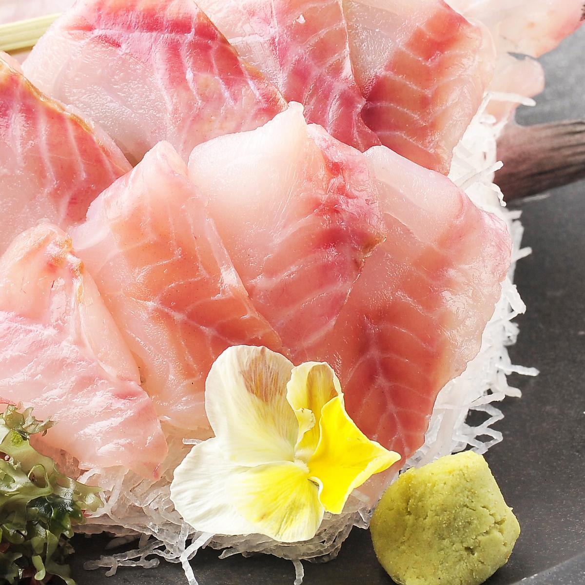 大豆生魚片