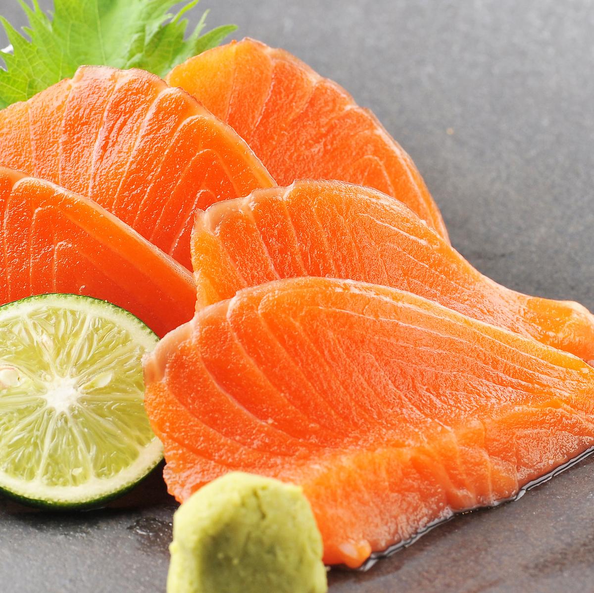 三文魚生魚片
