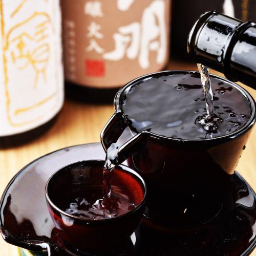 日本の四季と恵みがもたらせた美味しい日本酒。