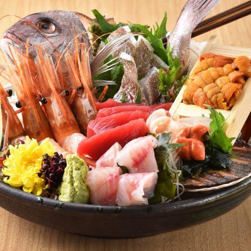 魚吉ならではの「新鮮な北海道の海の幸」旬を先取りしてご提供する海鮮居酒屋