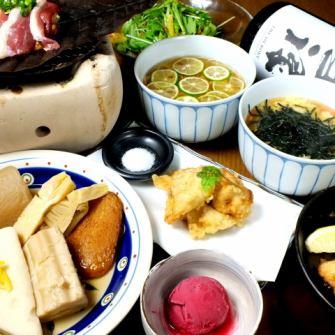2H飲み放題付+お料理7品⇒3500円!!お得に「よなが」のおすすめ料理がたっぷり食べられます♪