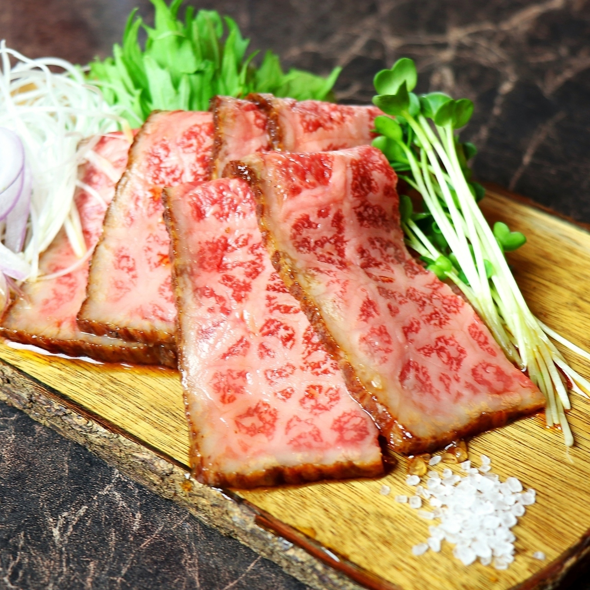Shimomura beef's roast beef