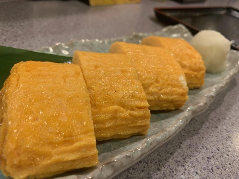 おススメの料理 大将自慢のだしまき 980円(税抜)