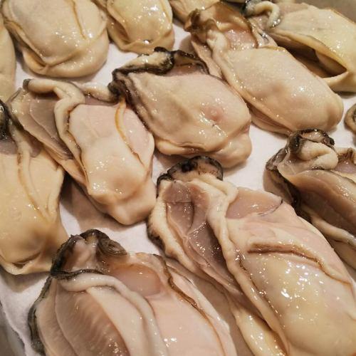 北海道釧路産牡蠣