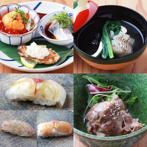 寿司付きの最上級10,000円
