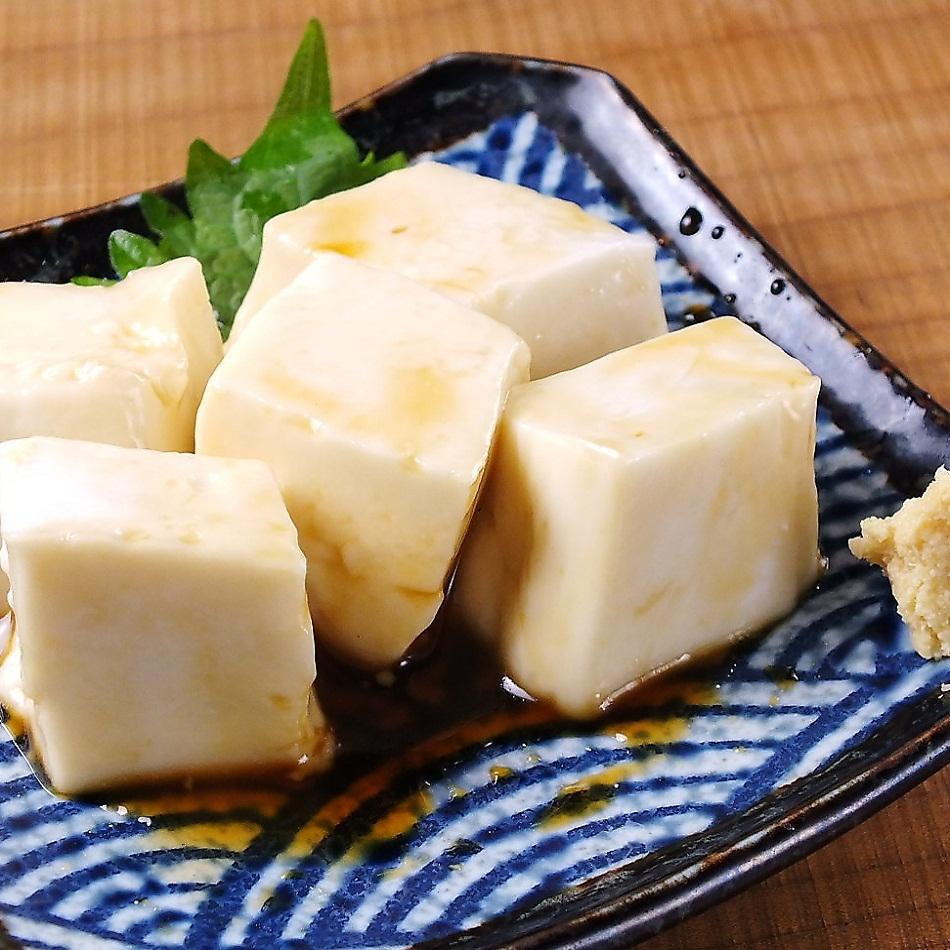 Homemade Jimami Tofu