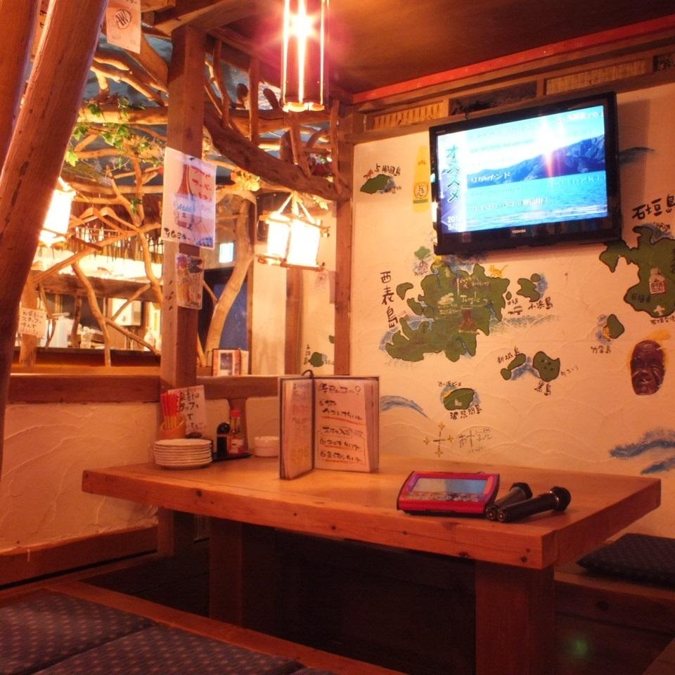 平日限定5名~カラオケ宴会可能!モンパチや涙そうそうなど、沖縄・琉球にまつわる曲を歌って盛り上がってください!