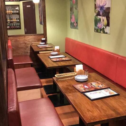It is easy accessible location that it is 2 minutes on foot from Tennozu Isle station.We offer Asian ethnic cuisine with authentic Thai dishes.Charges are available for large groups at banquet room so please do not hesitate to consult us! ♪ Please enjoy the authentic taste ♪