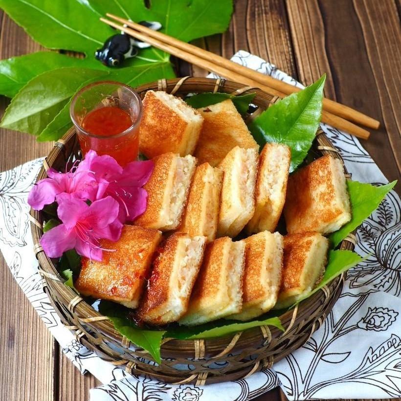 Lemon grass shrimp surimi wrapper
