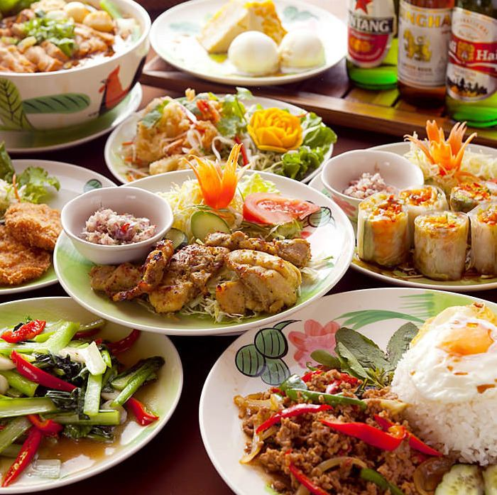 ISAN SET * with your favorite drink