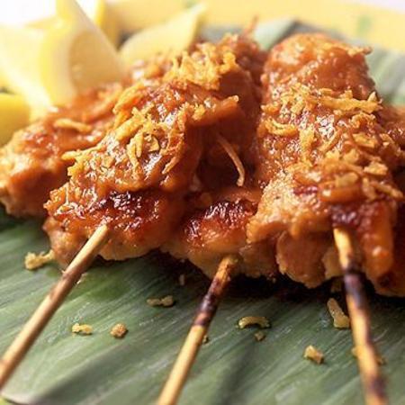 鸡肉沙爹(2)