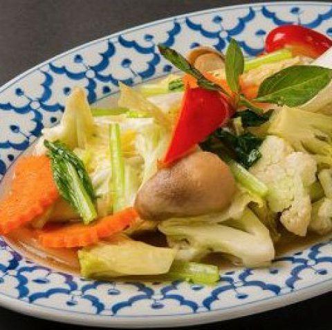 炒泰式蔬菜