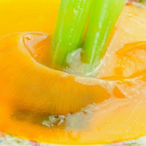 ふかひれの姿醤油煮・かぼちゃ煮(1枚)