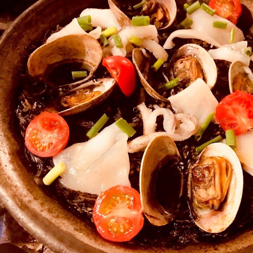 Jarika的Ikasumi海鲜饭
