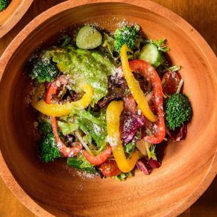 大量的蔬菜蔬菜沙拉