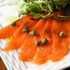 腌制烟熏鲑鱼