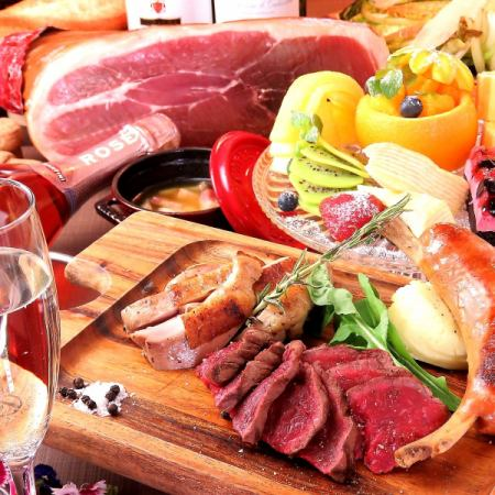 【ディナー!宴会!飲み放題♪】知多牛のステーキ付き!PIZZA食べ放題CONAコース(全10品)4000円♪