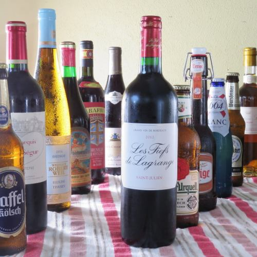 ◆欧州のビールとワイン