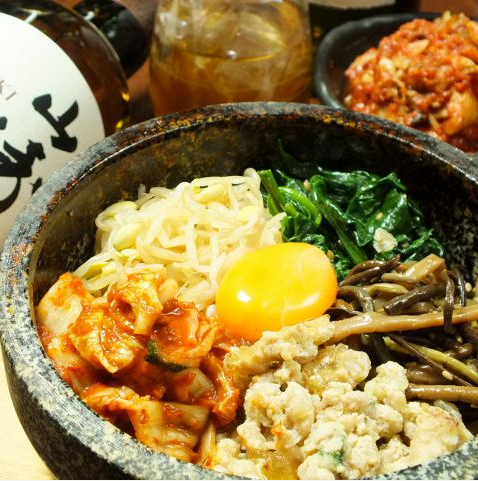 Stone Grilled Bibimbap / Chicken Soboro Mushroom / Exquisite Oyakodon Dinner / Tuna Yukke Don bowl