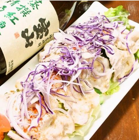 일본식 간장 샐러드 / 돼지 샤브샤브 샐러드 / 시저 샐러드