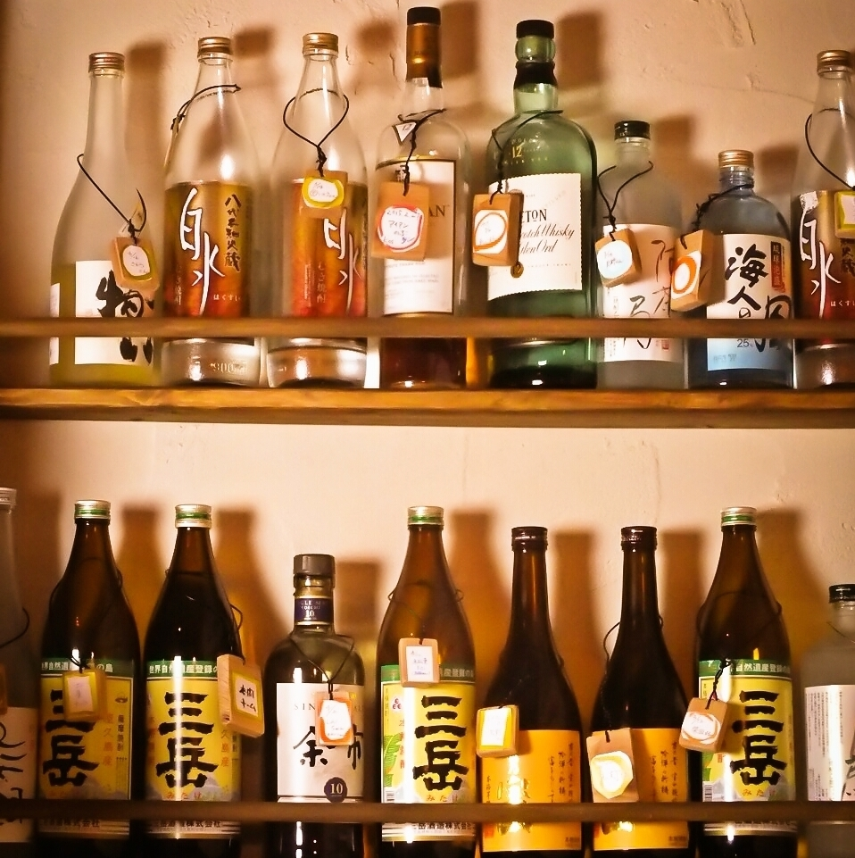 Bottle keeping OK ♪ Let's become regulars and taste Yoshi Yoshi ☆ Please also recommend drinking at the counter seat