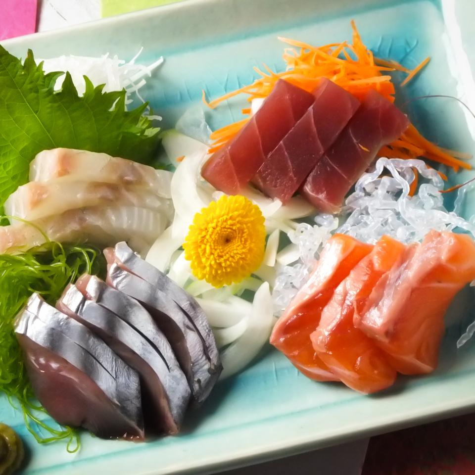 今天的生魚片