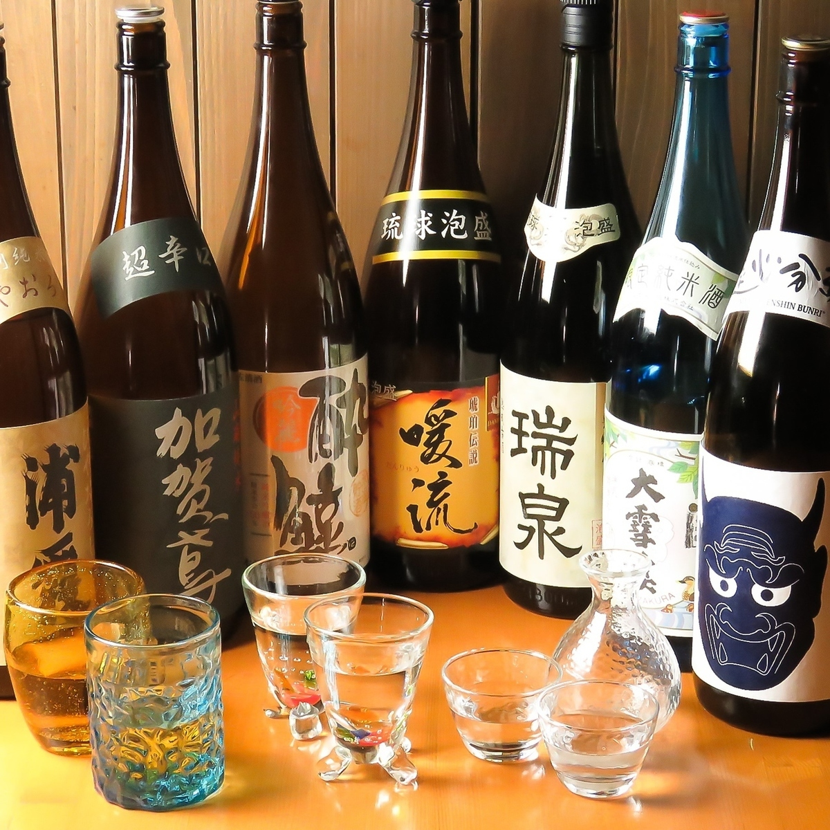 Shochu and Awamori will be replaced by seasons and purchase! ♪ The type of shochu will change due to customer's introduction