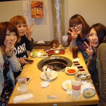 How about the Yakiniku Girls' Association? It is a great success every day!