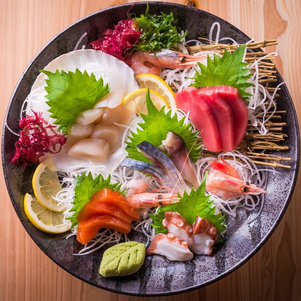 Random sashimi at 5 points