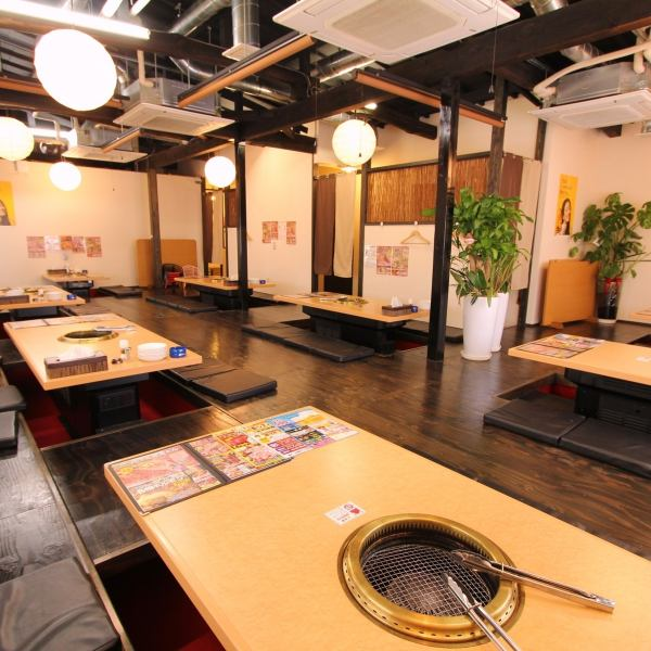 The second floor is spacious ♪ digging your stand parlor is a banquet OK! Excellent usability of up to 4 people, 8 people, 10 people ... up to 50 people!