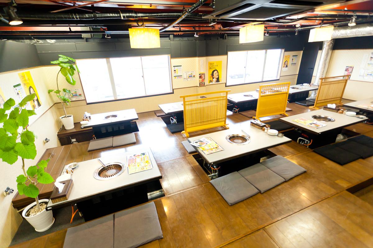 最多可容纳50位客人!Ozaki是一个宽敞的空间