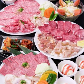 The day OK !! All 14 items with Zabuto 【4000 yen course】 ※ Rice Instant free and soft drinks All you can drink