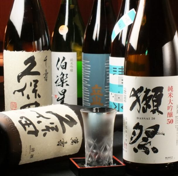 Sake, the degree of fulfillment of shochu is different! There are sake including all you can drink ♪
