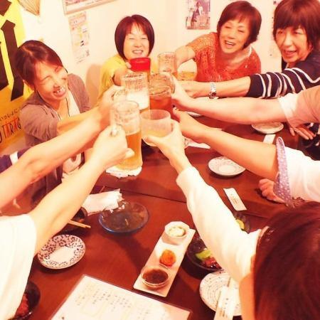 飲みメインの日にオススメ☆120分飲放付【ゆんたくコース全6品3500円→3000円】