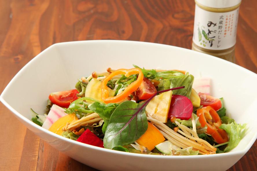 15 items of homemade dressing salad