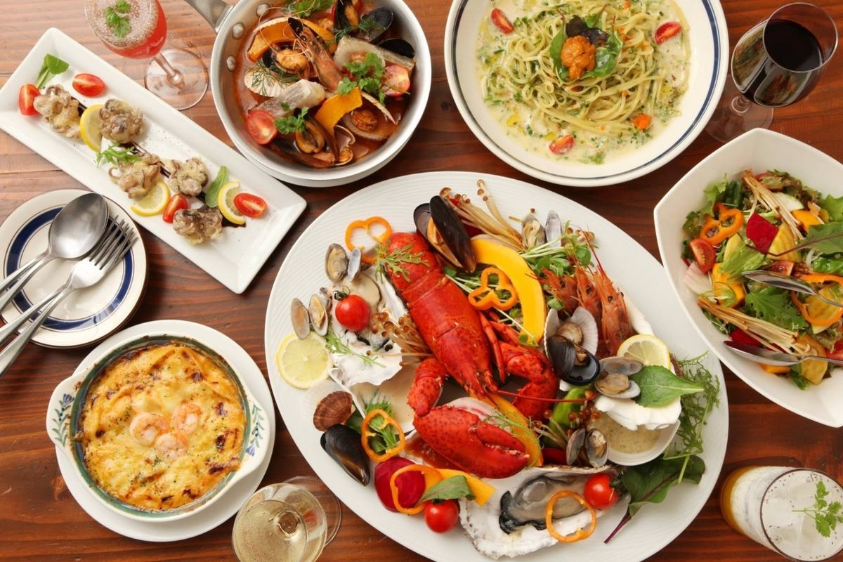 Italian seafood, you can easily eat deliciously!