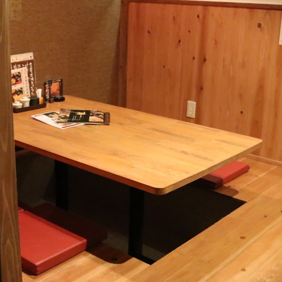 8 tatami mats available for up to 4 people.You can use it as a semi-private room with downsizing.