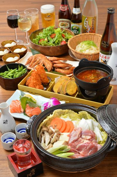Various banquets! 60 kinds of all-you-can-drink banquet courses * Weekday is prepared from (2500 yen per month) (Monday - Thursday) ♪