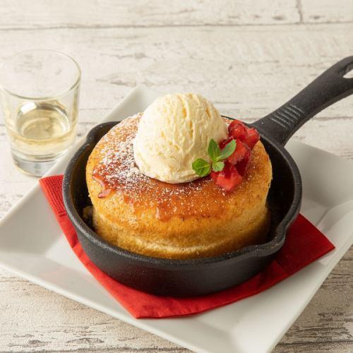 スキレットパンケーキ ~ラム酒ソース添え~