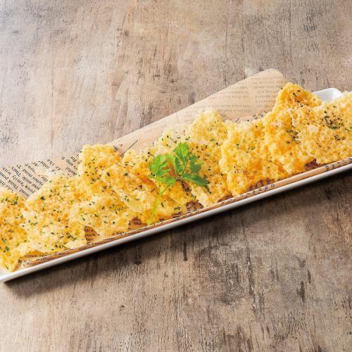 手作りパリパリチーズ