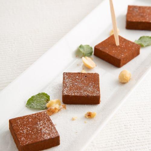 ウィスキー香る生チョコレート「RICH RENGA」