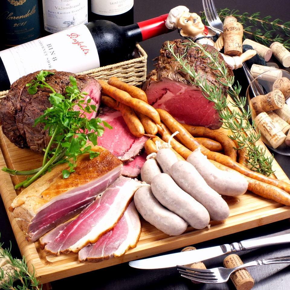 ◆自製肉類拼盤
