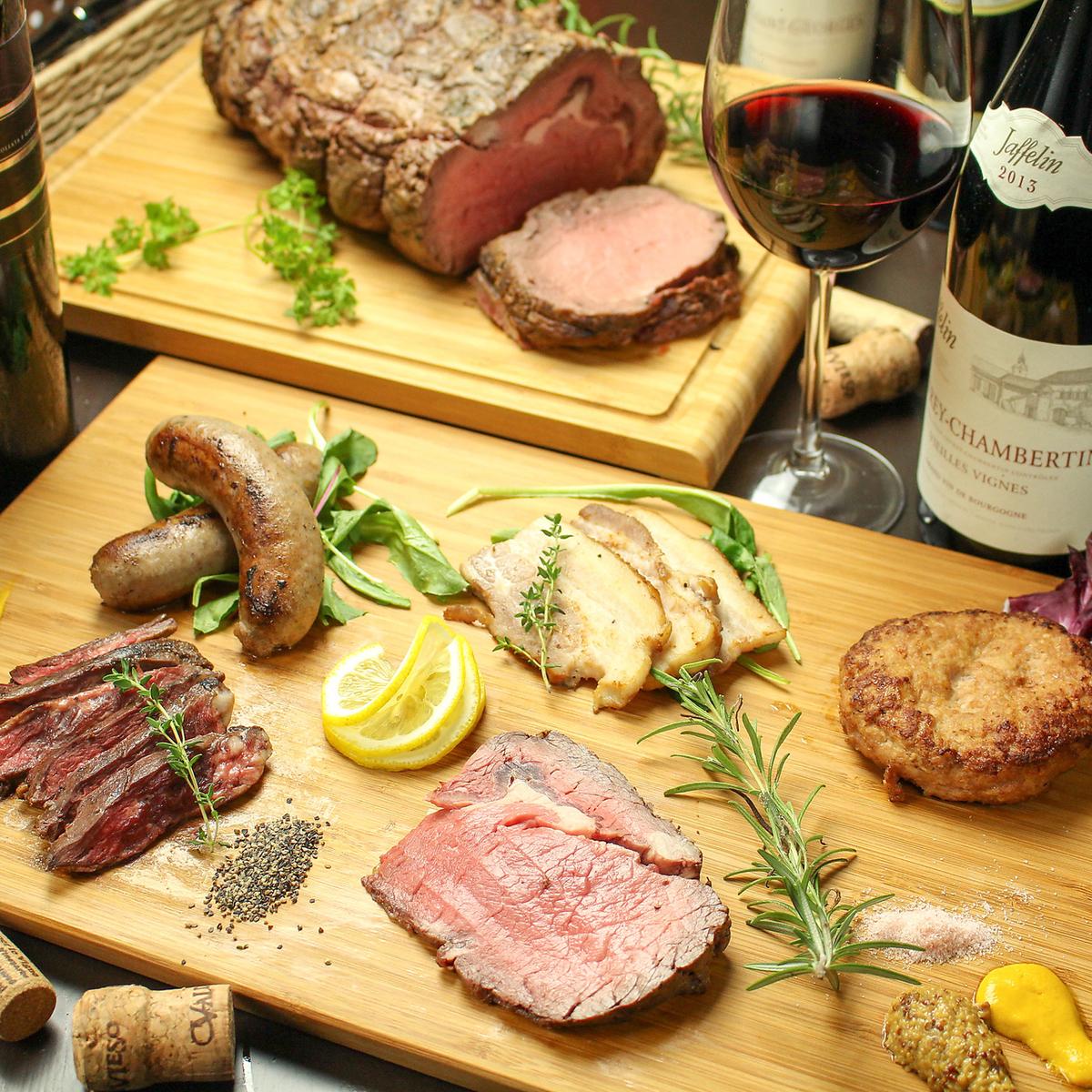 【하치 오지 은신처 비스트로] 요리사의 수제 고기 요리는 일품