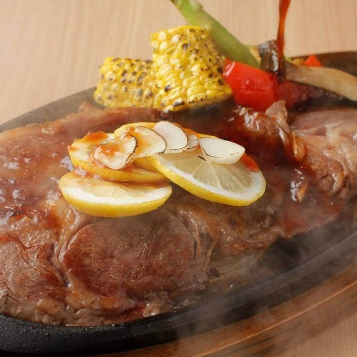 Aka beef steak steak ~ 200 g, with japonais sauce ~