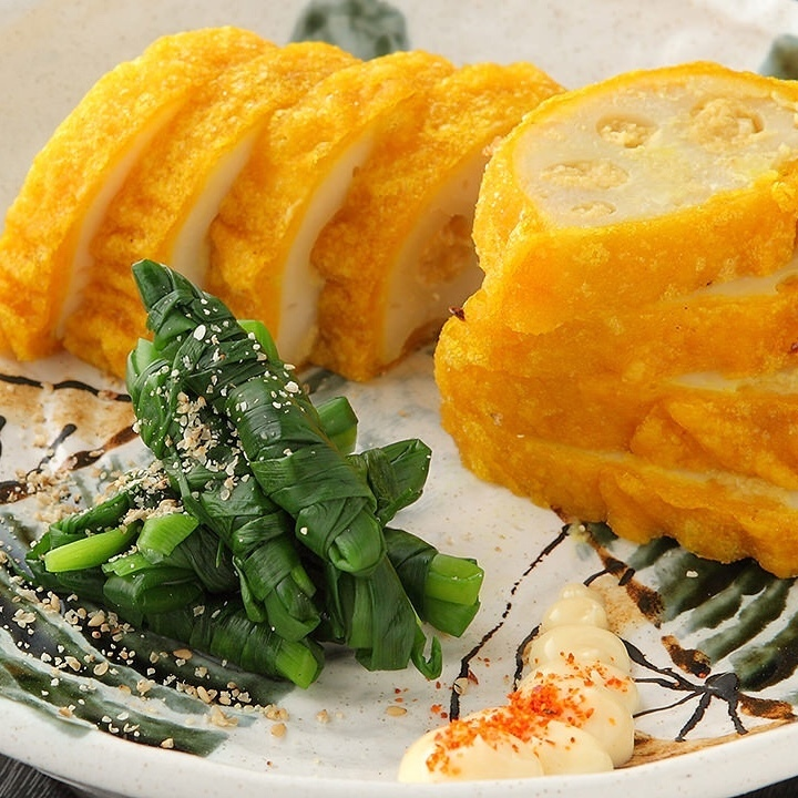 Fried spicy lotus root