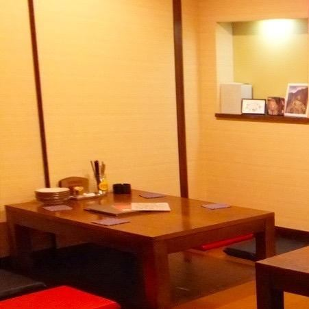 【Seats for Small Groups】 Seats available for 2 people are also available.Saku drinking after the girls' association and the company, also active at the secondary association.You can eat and drink with confidence in your important hospitality seats and with children.
