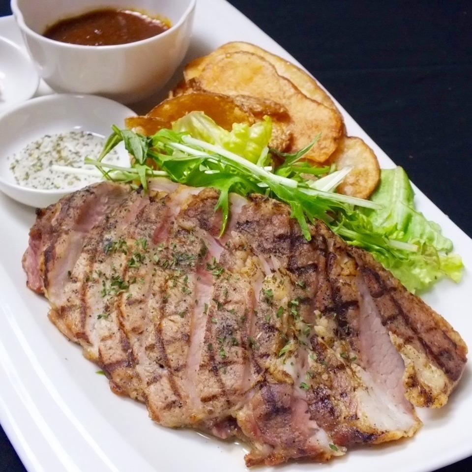 新泻牌猪肉·纯白色比安卡烧烤