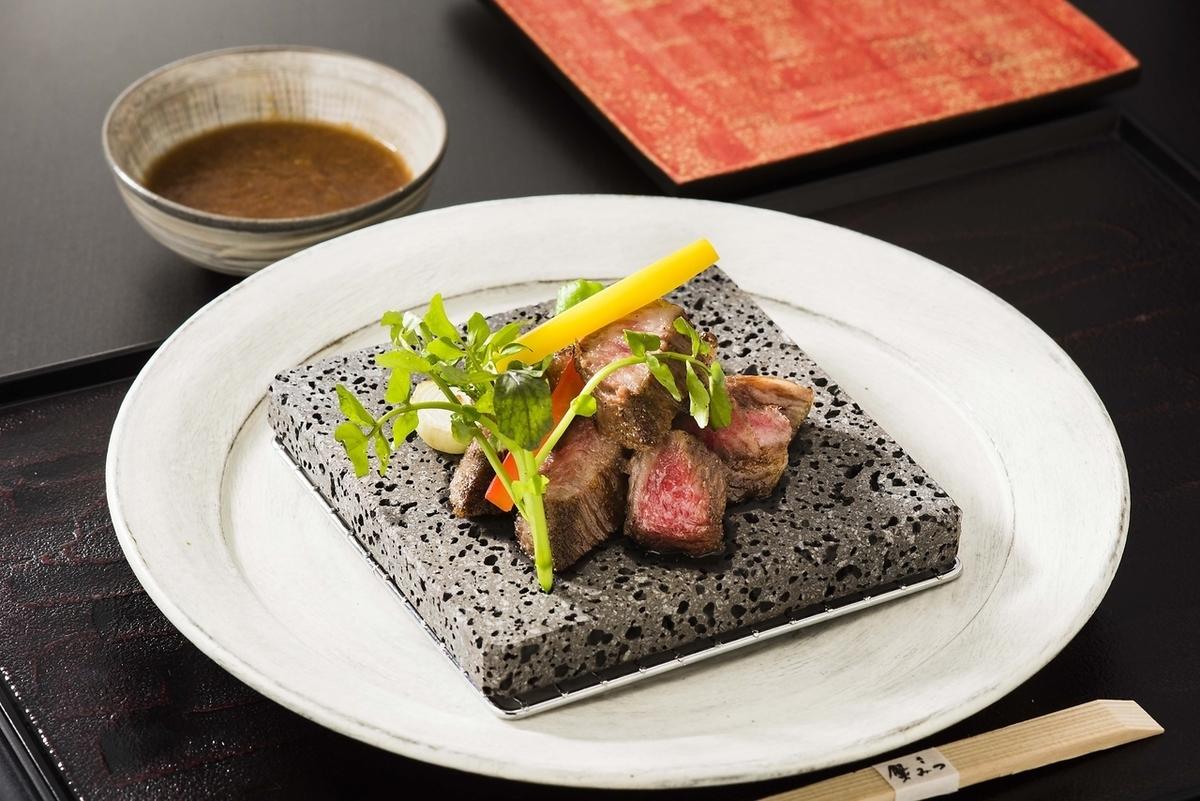야마가타 쇠고기 스테이크 (등심)