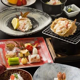 【Liver eyebrow course か え (Maple)】 All 7 dishes 14500 yen + tax (Inside the size of a bowl)