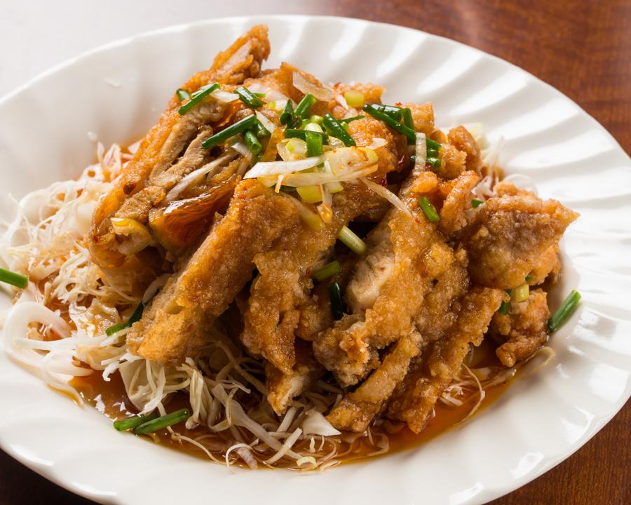 Oil ginger rooster